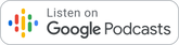 Google podcast button for bruce clay mena